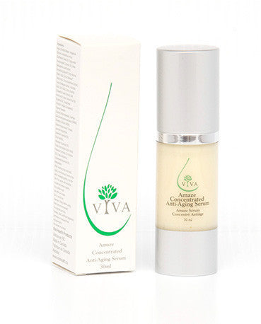 Viva Health Skincare Amaze Concentrated Anti Aging Serum 30ml, , Health and Beauty, Viva Health Skincare, Brentwood Health and Wellness