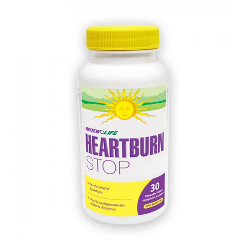 Renew Life HeartburnSTOP 30 tablets, , Vitamins and Supplements, Renew Life, Brentwood Health and Wellness