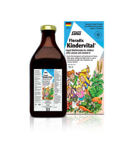Salus® Kindervital® Multivitamin for children, , Vitamins and Supplements, Flora Manufacturing & Distributing Ltd., Brentwood Health and Wellness