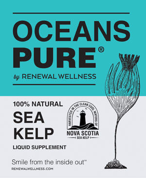 Renewal Wellness Oceans Pure Sea Kelp Liquid 500ml Bottle, , Vitamins and Supplements, Renewal Wellness, Brentwood Health and Wellness