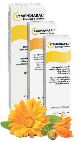 Pascoe Lymphdiaral Drainage Cream 40g, Homeopathy, Pascoe - Brentwood Health and Wellness