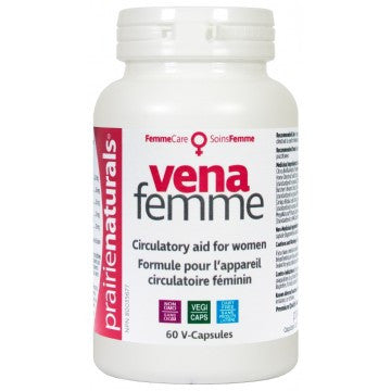 Prairie Naturals VENA-FEMME 60 capsules, , Vitamins and Supplements, Prairie Naturals, Brentwood Health and Wellness