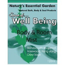 Nature's Essential Garden Well Being Spray 120ml