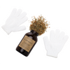 Slim Bath Salts Gift Set - Fight Cellulite and Detoxify Blend with Essential Oils includes Exfoliating Gloves - Natural Spa Bath - 6