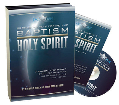 Preparing To Receive The Baptism Of The Holy Spirit [DVD & Book]