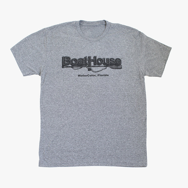 Watercolor Boathouse Tee