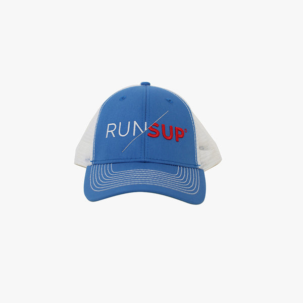 RUN/SUP Hat Blue