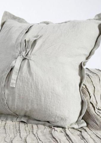 Linen cushion cover 50x50