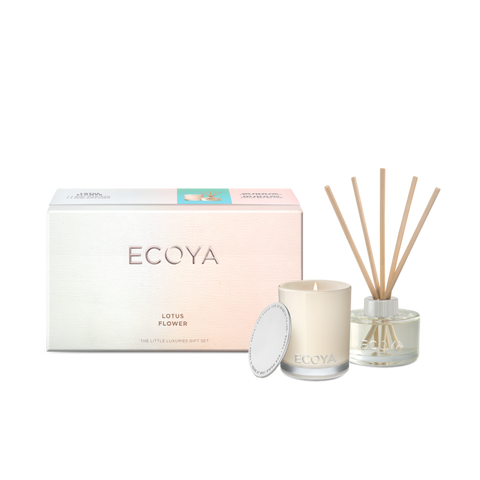 Ecoya Lotus Flower Little Luxuries Gift Set