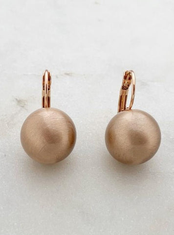 Millo earrings small /medium ball