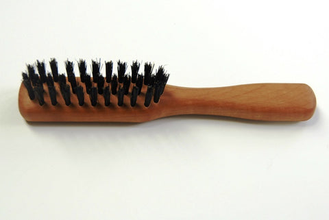 Beard Brush pearwood handle