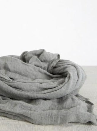 Linen scarf (Available in 3 colours)