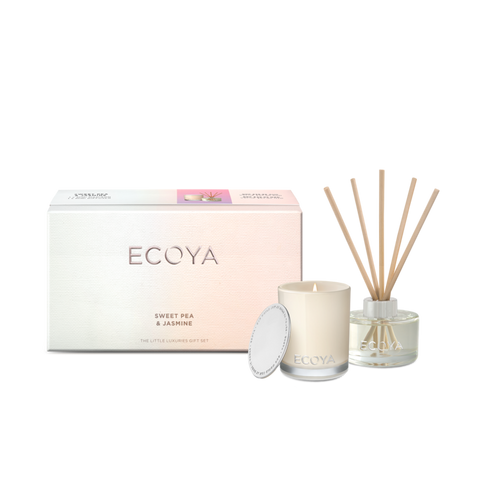 Ecoya Sweet Pea & Jasmine Little Luxuries Gift Set