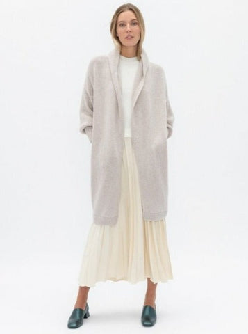 Oversized Thick Merino cardigan/coat
