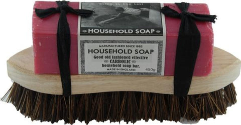 Household soap and brush set