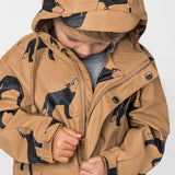Crywolf Rain Jacket Clay