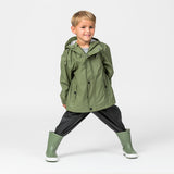 Crywolf Rain Jacket Green