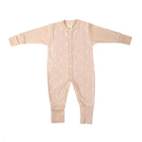 Organic cotton sleep-suit (Available in 3 colours)