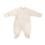Organic cotton sleepsuit fold with feet