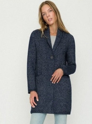 Long Cardigan With a Button