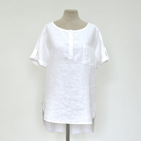 Linen tunic Ina (Available in 3 colours)