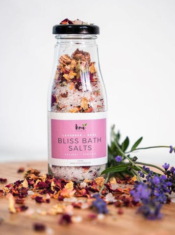 Koa Bliss Bath Salts Lavender Rose 250ml