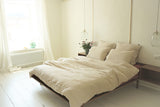 Linen duvet cover queen (2 colour options)