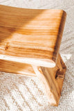 Wooden bench 3 seater