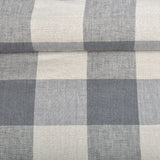100% Linen Fabric CHECK  (Available in 6 colours)