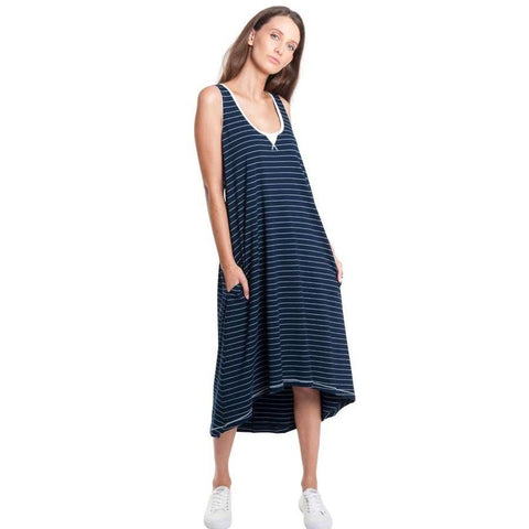 Sporty relaxed singlet dress