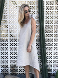Greer Dress Natural Linen