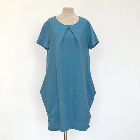 Linen dress Polina  (Available in 3 colours)