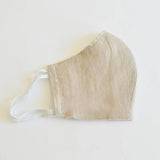 Face Mask  3 layer Linen