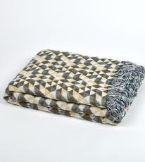 Double sided throw  136x170 (Available in 2 colours)