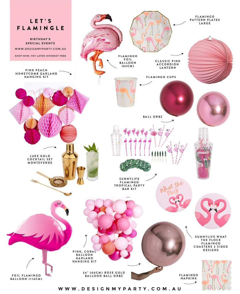 Flamingo Party Theme