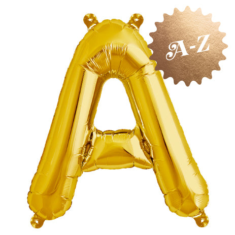 Foil Letters & Numbers Balloons