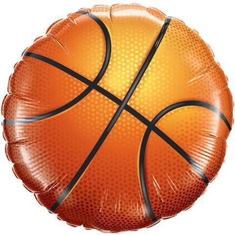 "18"" (46cm) Basketball Foil Balloon-Party Love"