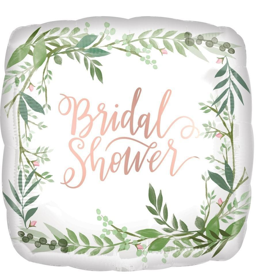 "18"" (46cm) Satin Luxe Floral Bridal Shower-Party Love"