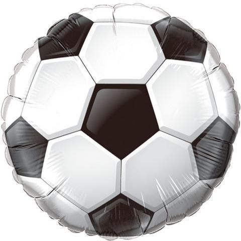 "18"" (46cm) Soccer Foil Balloon-Party Love"