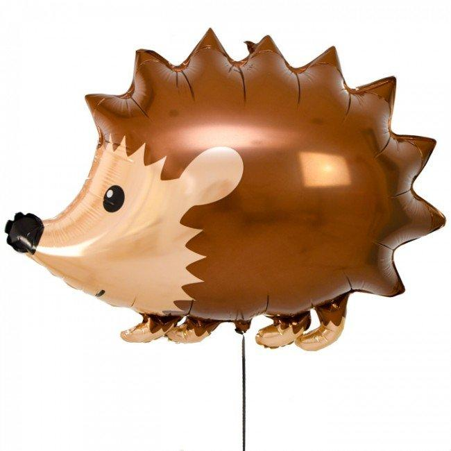 "30"" (76cm) Jumbo Woodland Hedgehog Foil Balloon-Party Love"