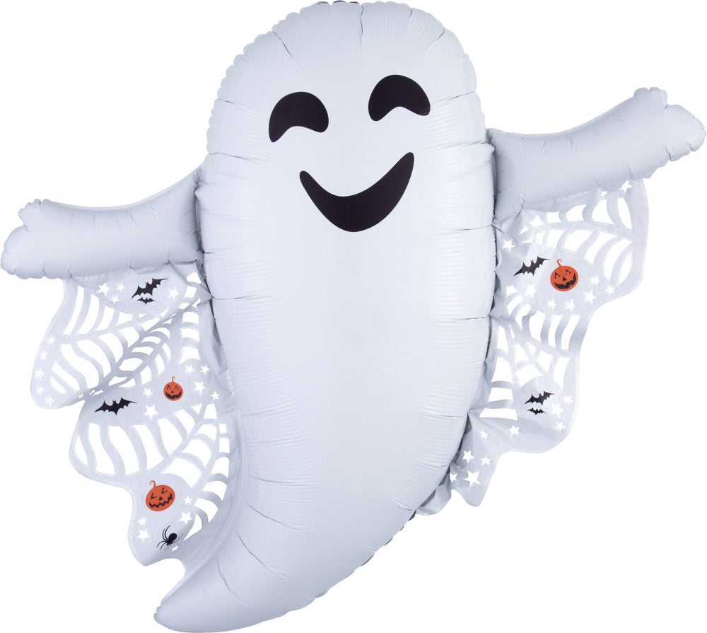 Intricates Ghost Foil Balloon 81cm-Party Love