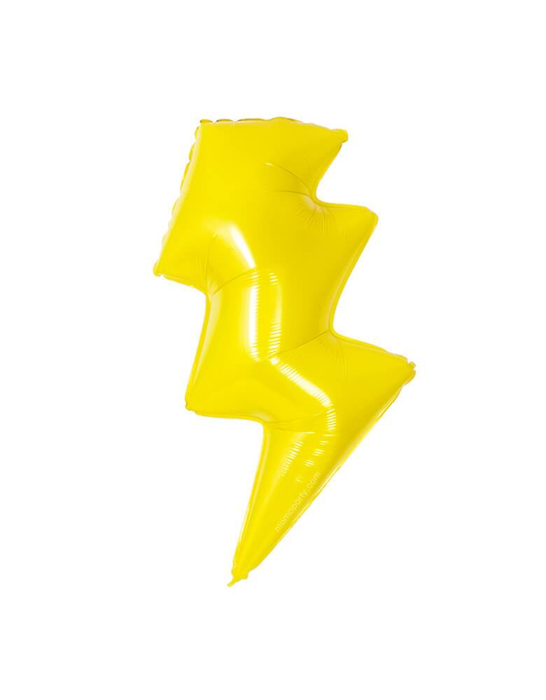 "Lightening Bolt Foil Balloon 36"" (91cm)-Party Love Australia"