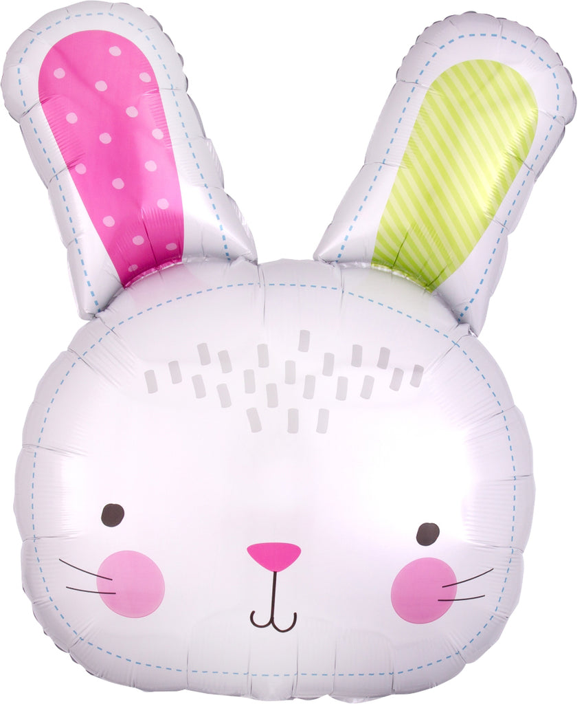 Hello Bunny Foil Balloon 71cm-Party Love
