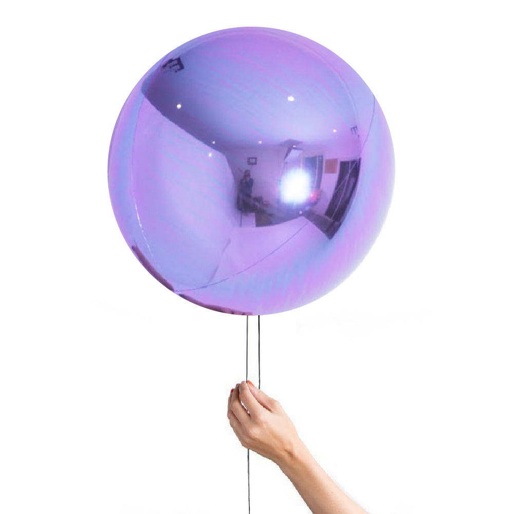 "20"" (50cm) Pearl Lilac Balloon Ball Orbz-Party Love"