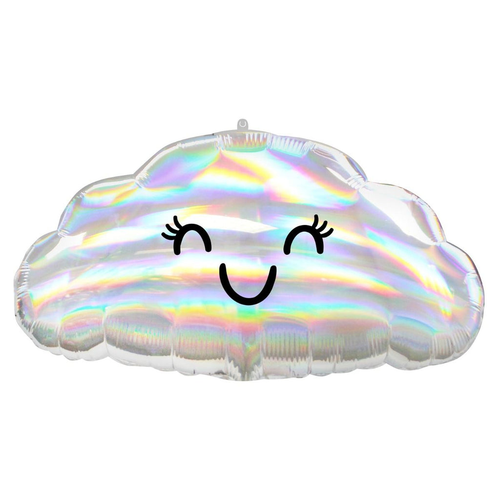 "Anagram Foil 58cm (23"") Irridescent Cloud foil balloon-Party Love"