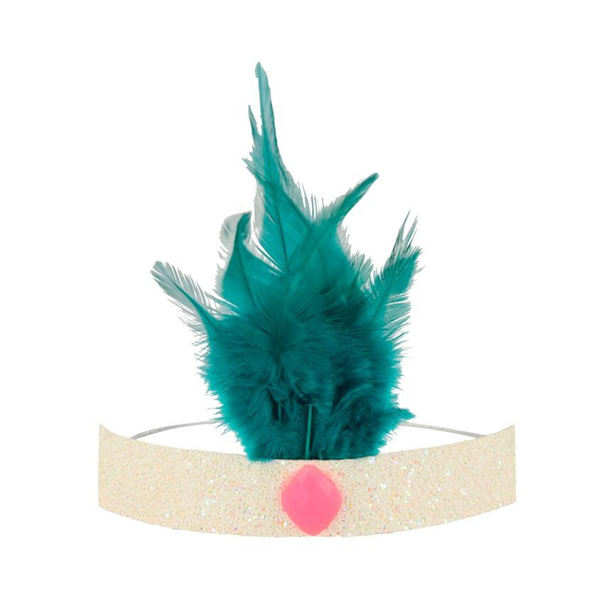 Circus Parade Feather Crowns-Party Love