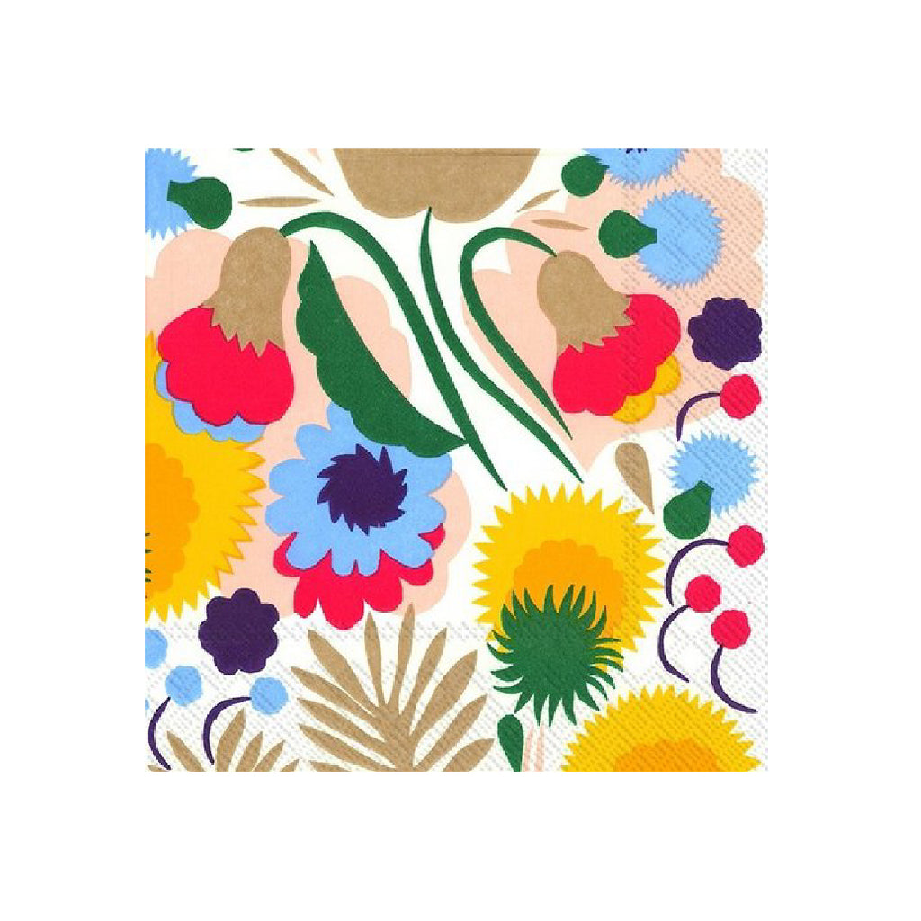 Marimekko Pikkukellukka C Lunch Napkins-Party Love