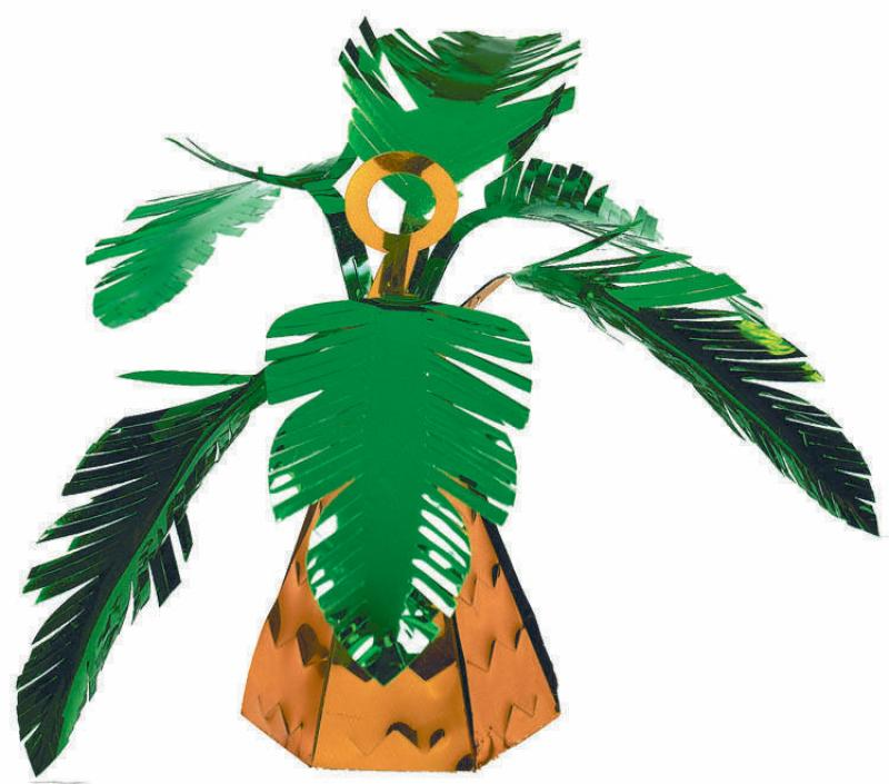 Palm Tree Foil Balloon Weight-Party Love