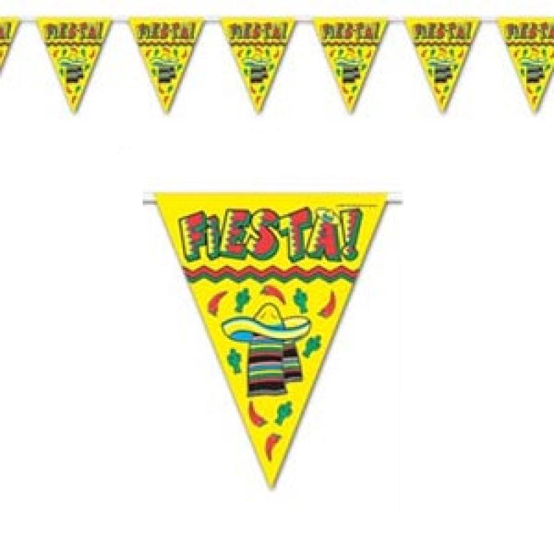 Fiesta Bunting Flags-Party Love
