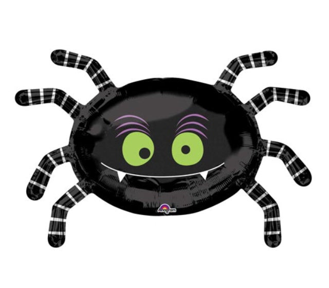 Halloween Spider Foil Balloon 79cm-Party Love